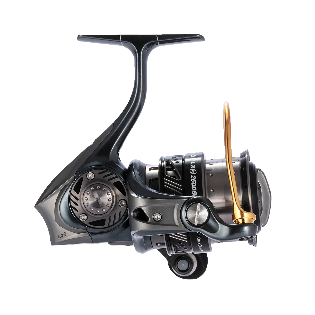 Abu Garcia ALX Theta Spinning Reel Side Profile